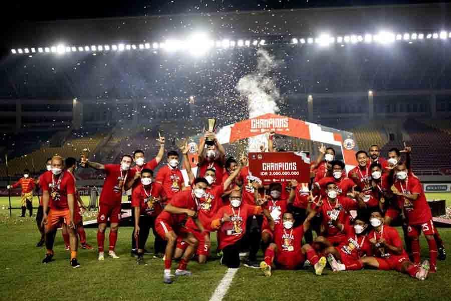 Kalahkan Persib, Macan Kemayoran Persija Juara Piala Menpora 2021